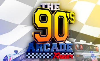 The-90s-arcade-racer-logo