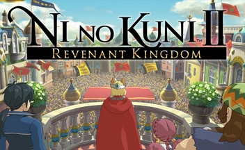 Геймплей Ni no Kuni 2: Revenant Kingdom - демоверсия с E3 2017