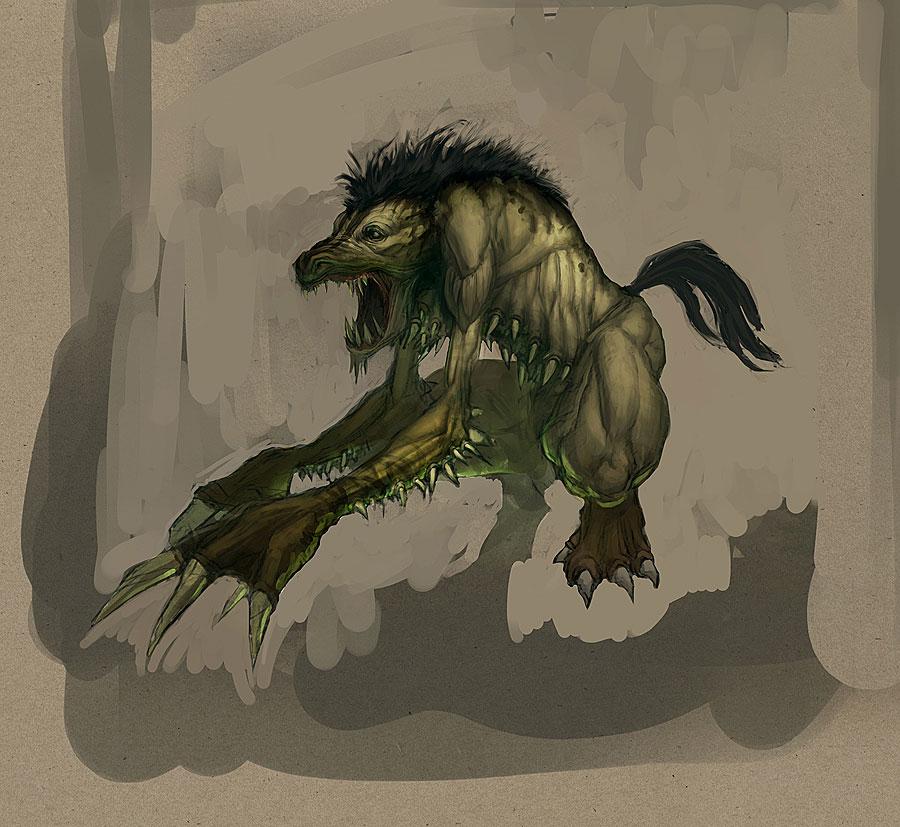 Падальщик - он из тех монстров, что вернулись из Diablo.