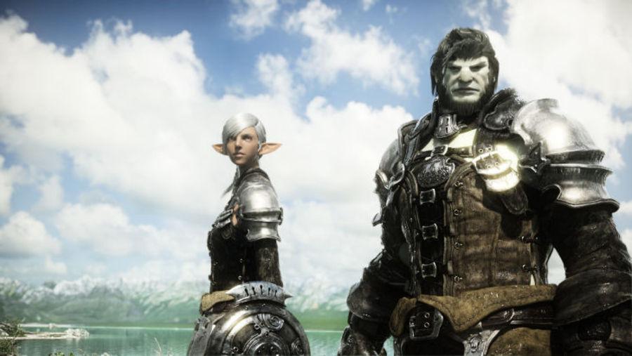 Final Fantasy XIV – герои в бою и на привале