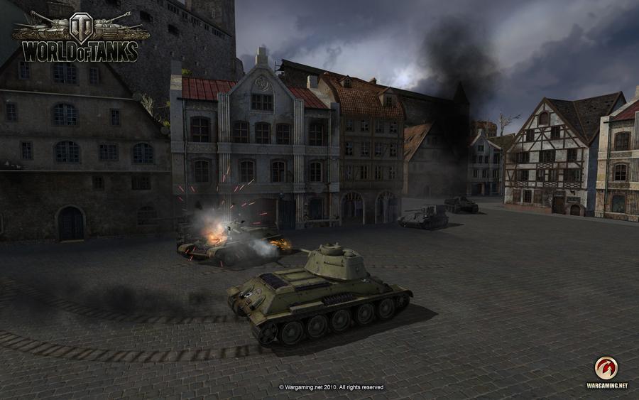 Вот появились обновленные шкурки с отображением зон пробитий под названием красная звезда 2 для world of tanks