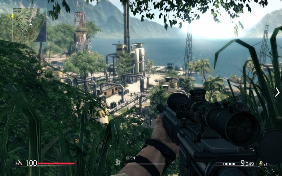 Скриншоты Sniper Ghost Warrior: джунгли