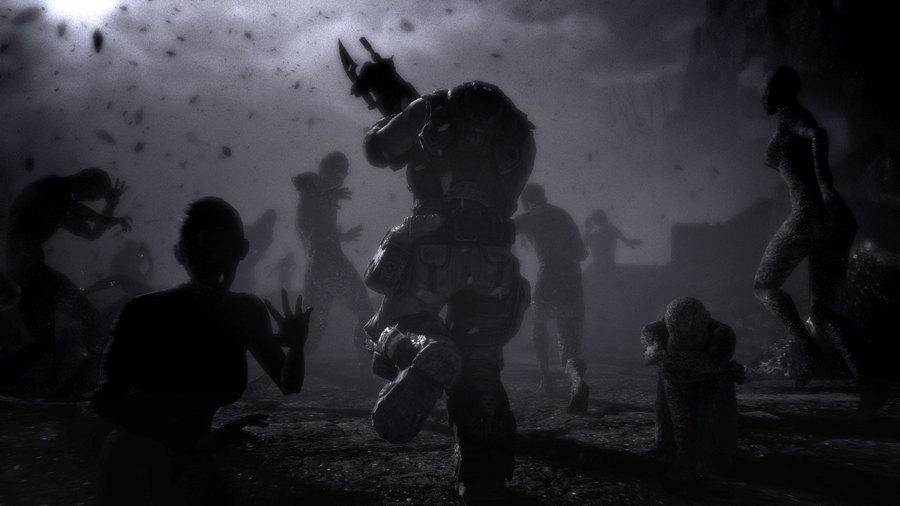 Первые скриншоты Gears of War 3