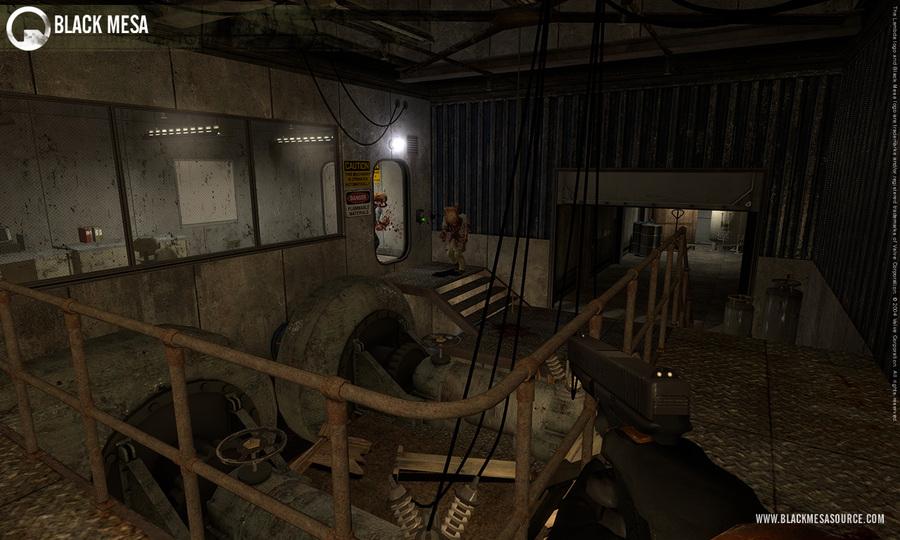 Сражения в Black Mesa: Source на новых скриншотах