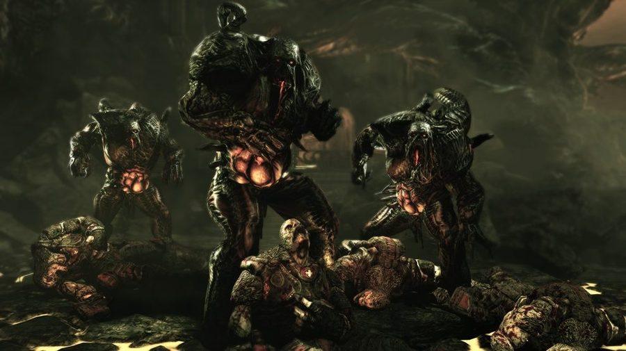 Gears of War 3 поигрывает мускулами