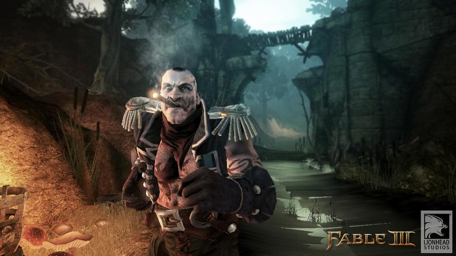 Скриншот Fable 3: капитан