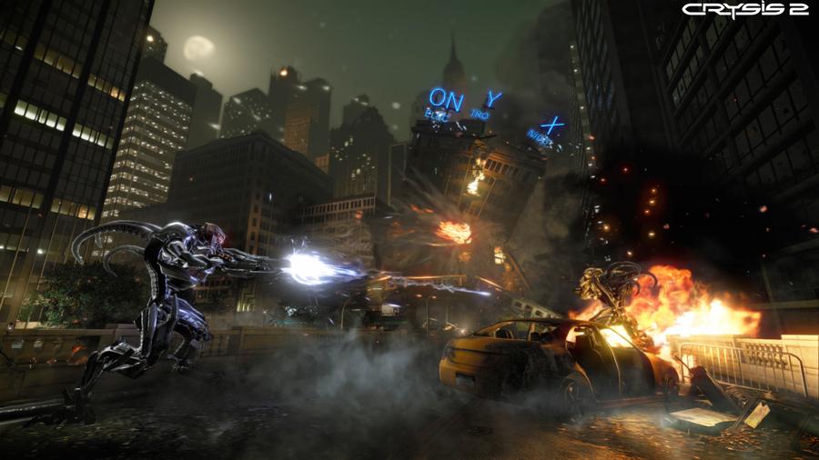 Скриншоты Crysis 2: пришельцы в Нью-Йорке