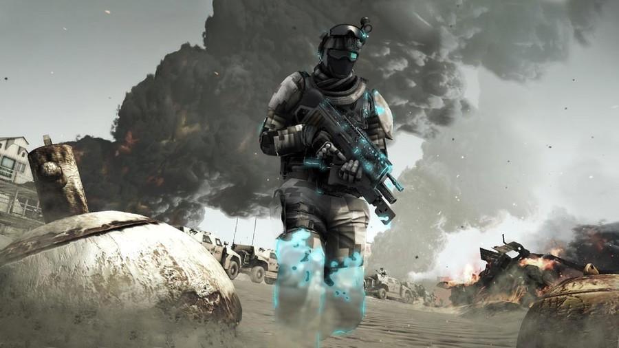 Отважные солдаты из Ghost Recon: Future Soldier