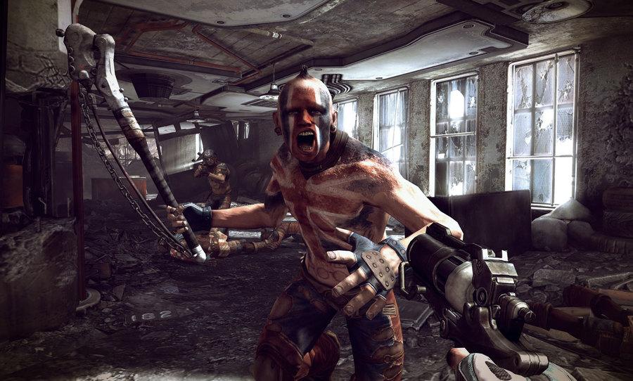 Разукрашенные враги на новых скриншотах Rage