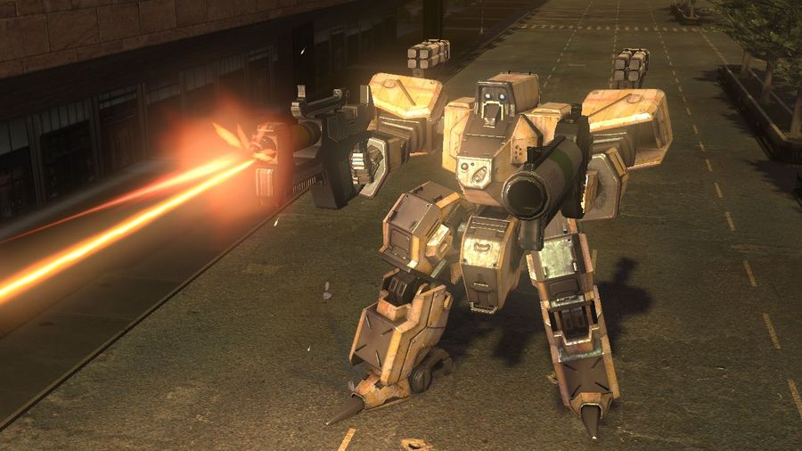 front mission evolved видео из игры