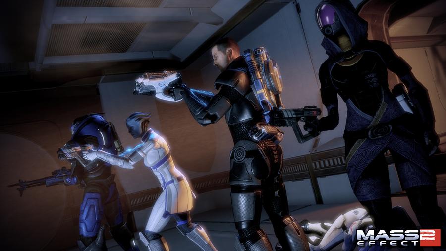 Анонсировано дополнение Lair of the Shadow Broker для Mass Effect 2