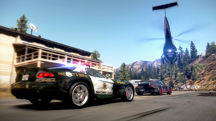 Скриншоты Need for Speed Hot Pursuit: полицейские машины