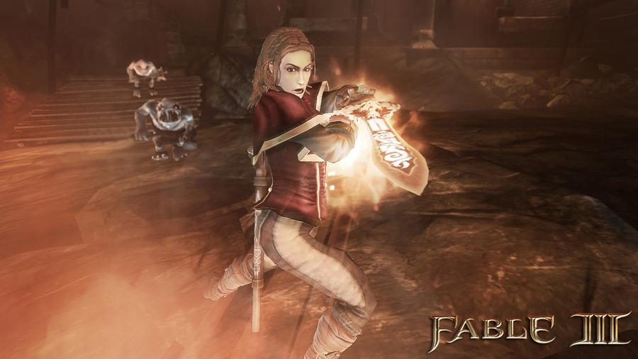 Скриншоты Fable 3: магия
