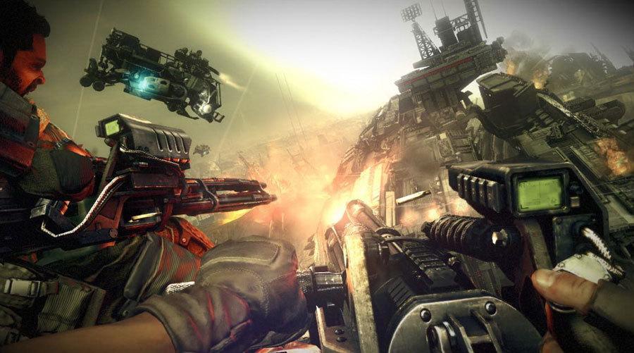 Скриншоты Killzone 3 – гигантский танк