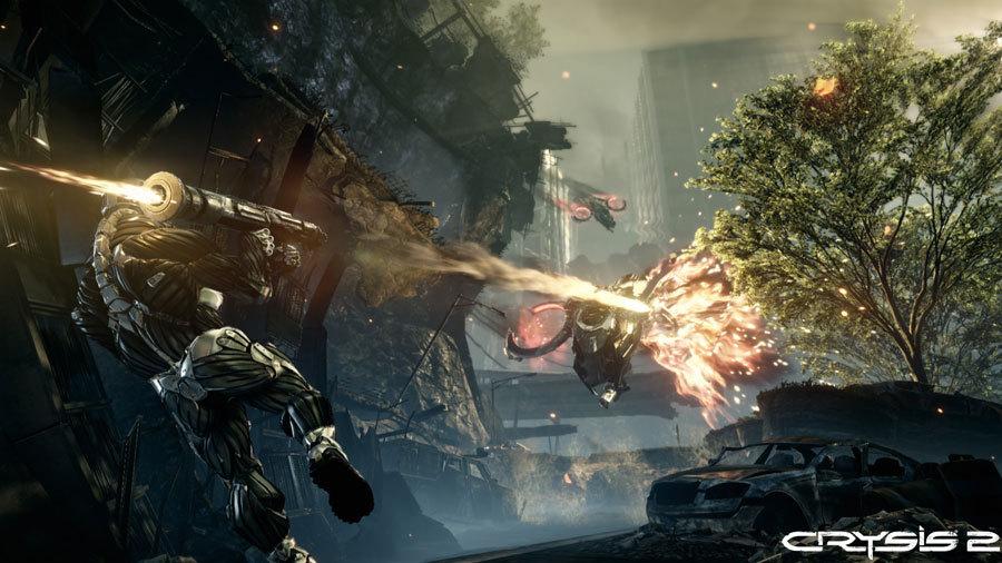 Скриншоты Crysis 2: одиночная кампания