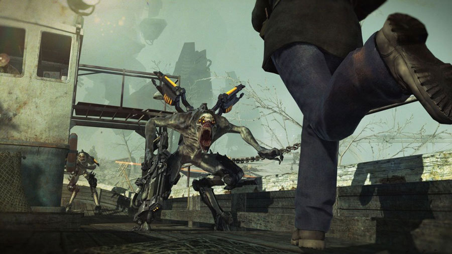 Новая порция скриншотов Resistance 3
