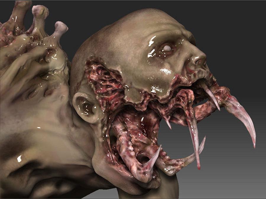 Арты Dead Space 2 - «Обаяние» некроморфов