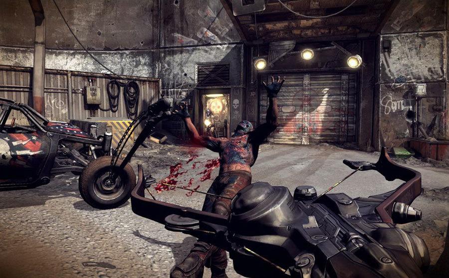 Общение и стрельба на новых скриншотах Rage