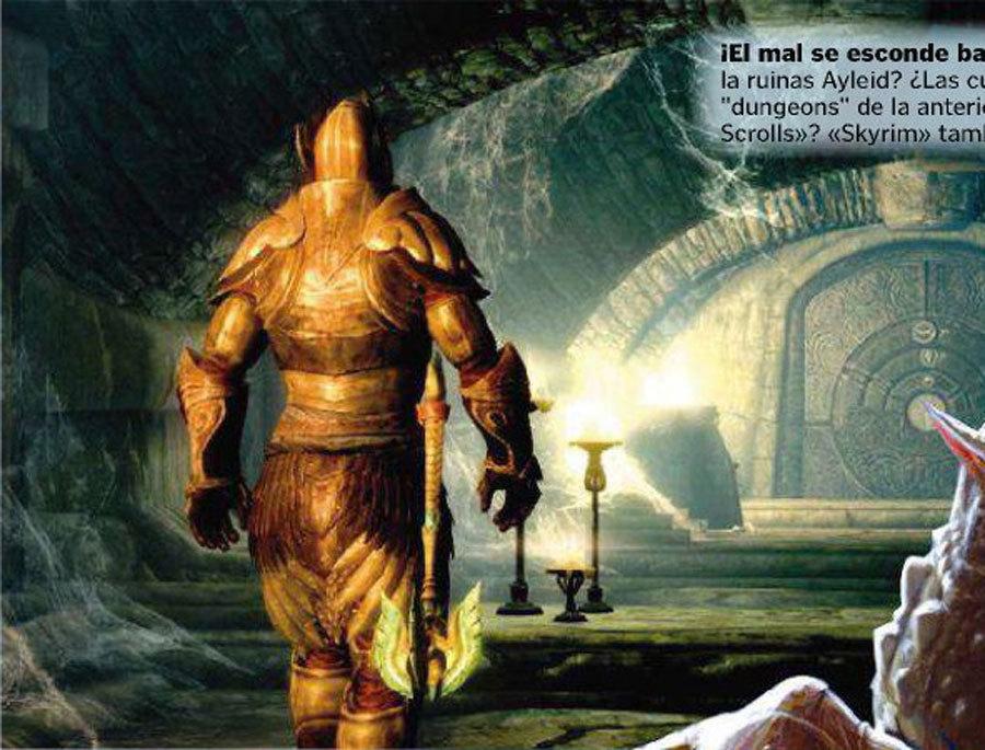 Подборка сканов из The Elder Scrolls 5: Skyrim