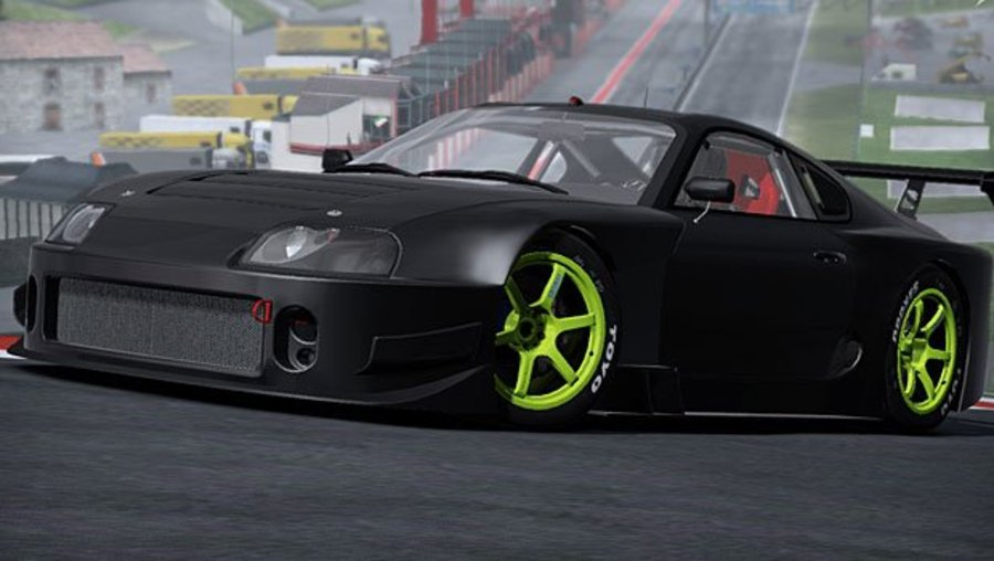 Toyota Supra Need for Speed  Shift 2 Unleashed.