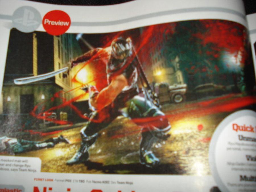 Подробности о проекте Ninja Gaiden 3