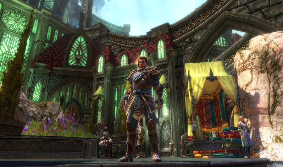 Скриншоты Kingdoms of Amalur: Reckoning – ловкач в деле