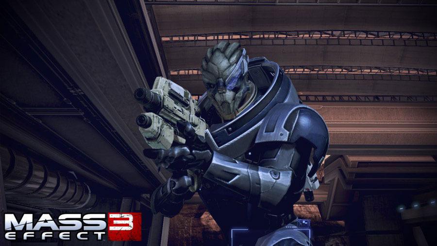 Три новых скриншота Mass Effect 3