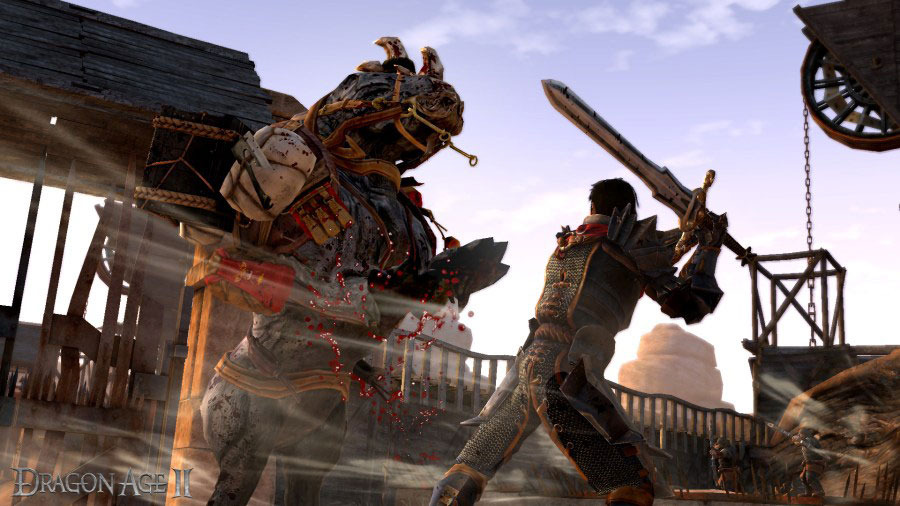 Первые скриншоты Dragon Age II Legacy