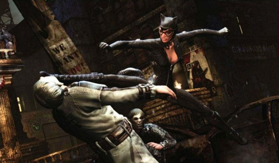 ��������� �������������� ���������� �� Batman Arkham City