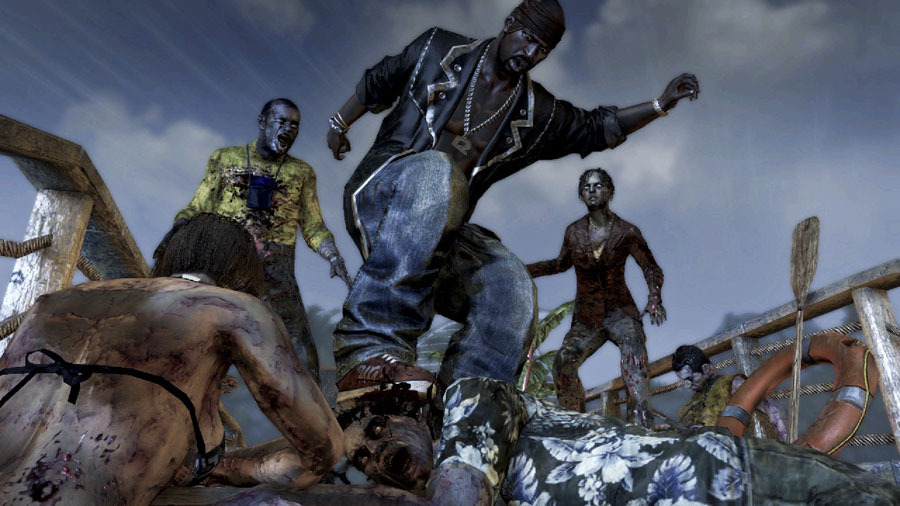 Изничтожение зомби на скриншотах Dead Island