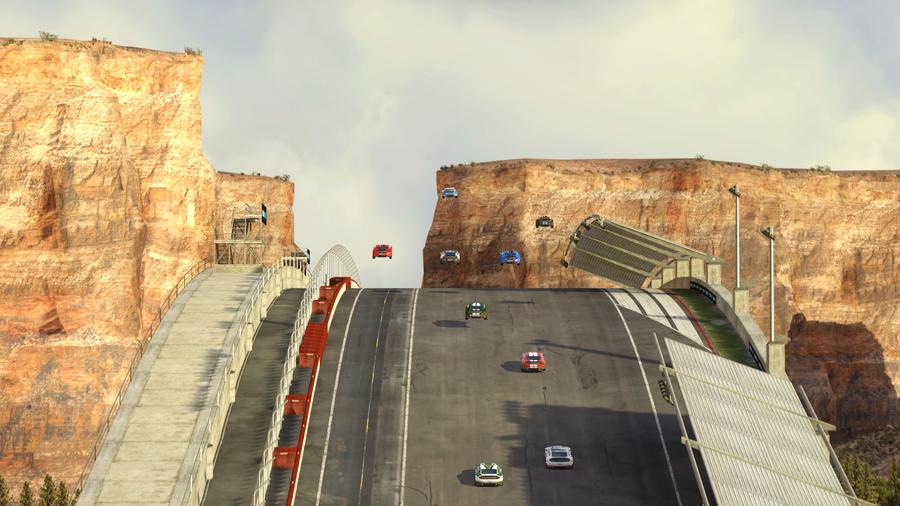 ����������� ����� � TrackMania 2: Canyon