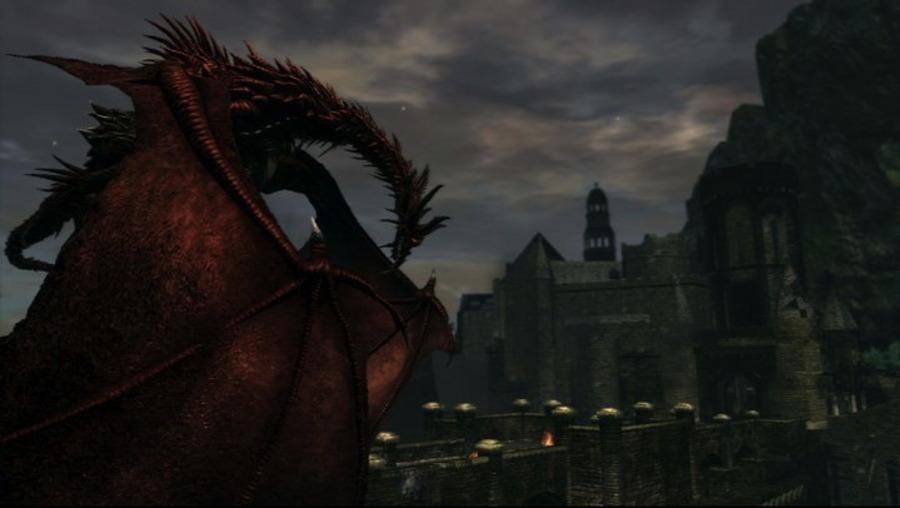 Скриншоты Dark Souls – бой в замке