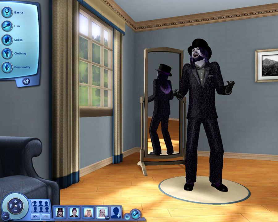 The Sims 3: Скриншоты The Sims 3: . Вампиры? The Sims 3 скриншот