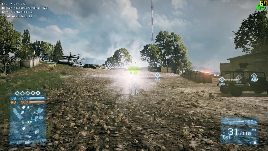 Battlefield 3 – убавьте свет!