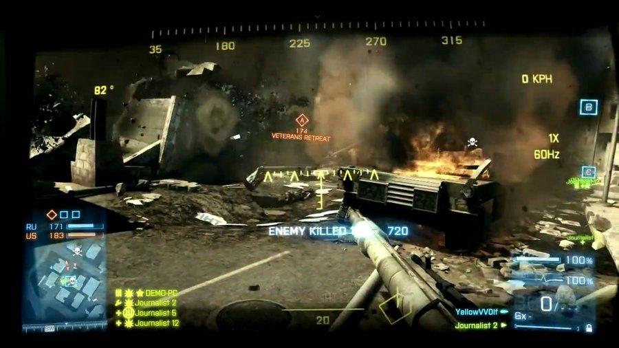 Туча скриншотов из Battlefield 3: Back to Karkand