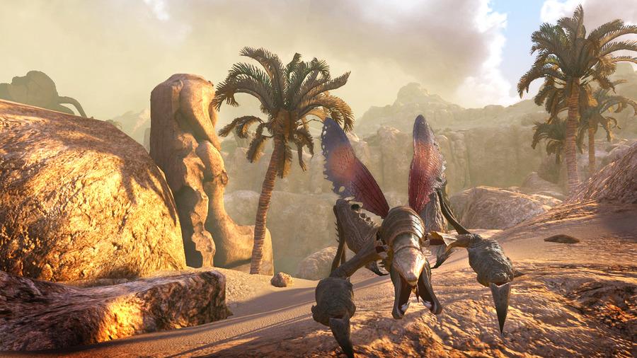 Скриншоты The Secret World – пальмы и монстры