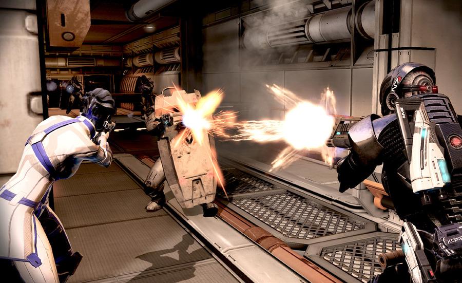 Скриншоты Mass Effect 3 – стрельба в переулках