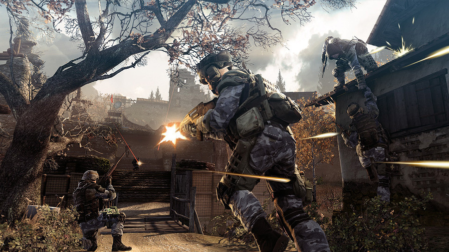 Скриншоты русской версии Warface