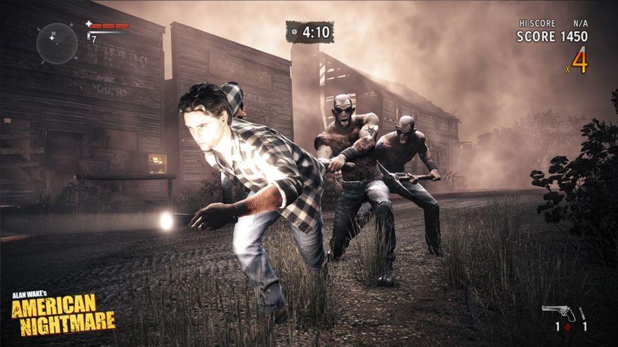 Отстрел врагов на скриншотах Alan Wake`s American Nightmare