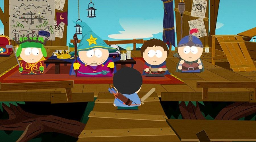 Скриншоты и арты проекта South Park: The Game