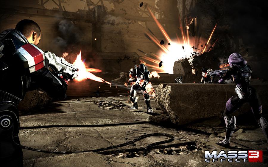 Скриншоты Mass Effect 3 – звездная банда