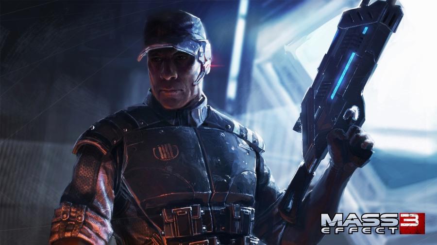 Скриншоты Mass Effect 3 – ключевые персонажи