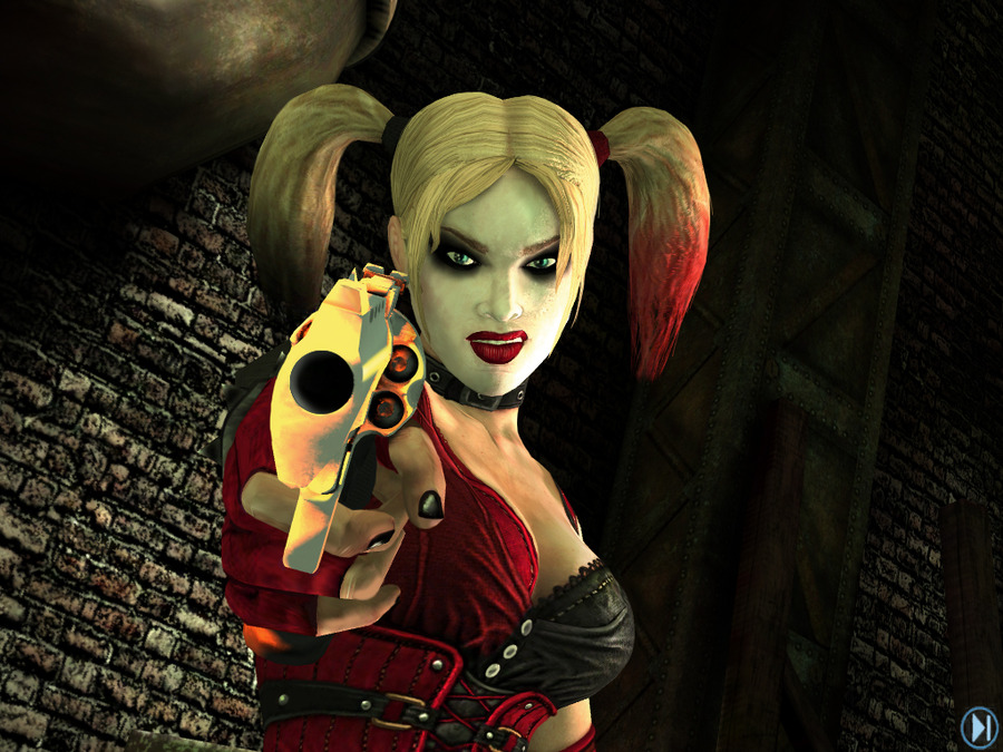 Batman Arkham City Harley Quinn Revenge dlc Final Battle