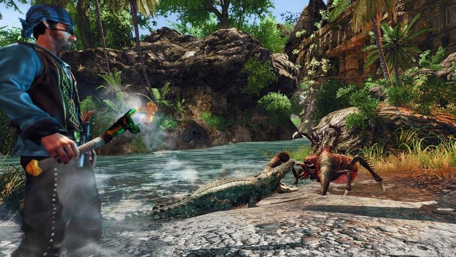 Скриншоты Risen 2 – чудовищные обитатели островов