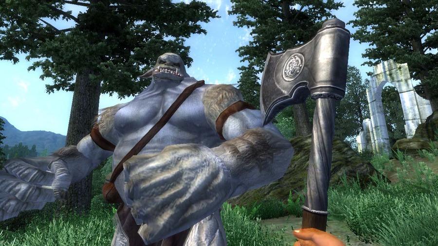 Skyrim oblivion graphics