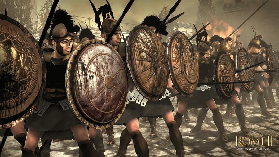 Новая фракция Total War Rome 2 - Македонцы Total-war-rome-2-1358619862226792