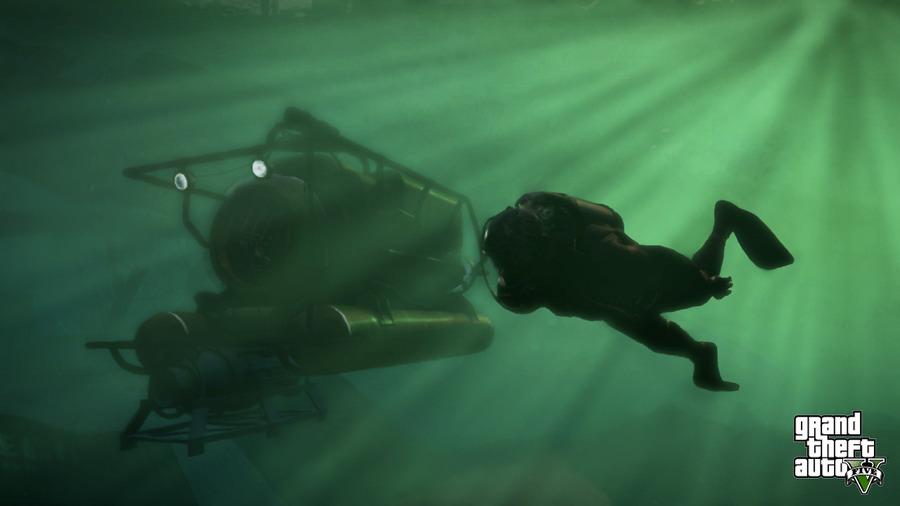 на подводной лодке читы гта 5 на xbox one