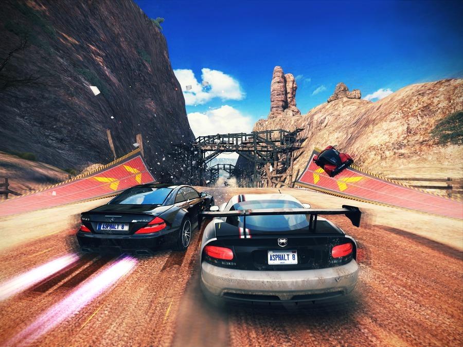 Скриншоты Asphalt 8: Airborne - большие скорости