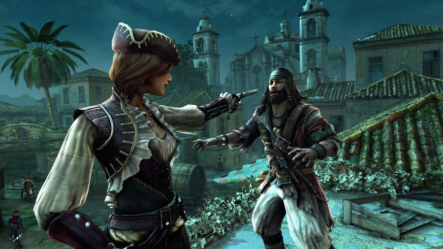 Assassins creed с девушкой - 6