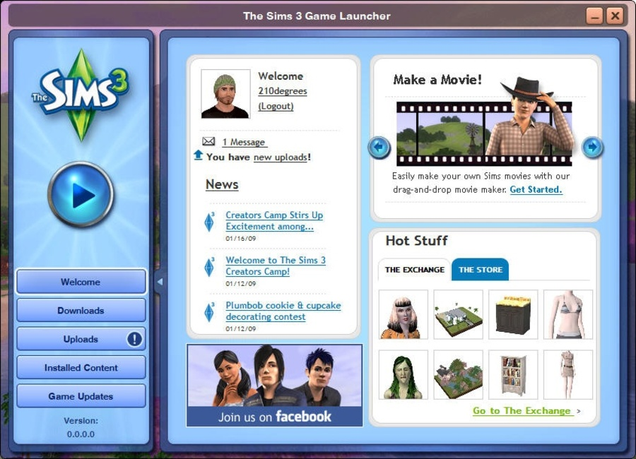 The Sims 3 Launcher Скачать - bayaderaimport
